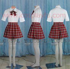 Japanese Uniform School Girl (Hitomi) - Tailor-Made Cosplay Costume