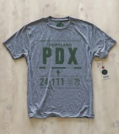 Tee by Pilot and Captain: Portland | PDX
