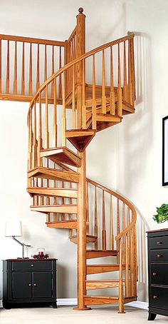 I want a loft study with lots of lounging area and a beautiful spiral staircase :-)  Different color wood or a totally different type of material used though...