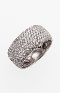 Bony Levy 9-Row Pavé Diamond Ring (Nordstrom Exclusive) | Nordstrom What girl wouldn't want this?