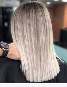 Brown Hair Balayage, Blonde Balayage, Hair Highlights, Blonde Hair Looks, Ash Blonde Hair, Gorgeous Hair Color, Brown Hair Colors, Spring Hair Colors, Dyed Hair