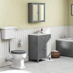 Bath Front Panel, Bath Panel, Grey Vanity Unit, Vanity Units, Bath Mixer Taps, Basin Mixer, Wood Panel Bathroom, Low Level Toilet, Art