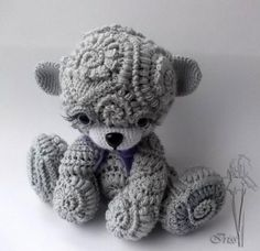 Free form crochet by Irina Iriss ༺✿ƬⱤღ  https://www.pinterest.com/teretegui/✿༻