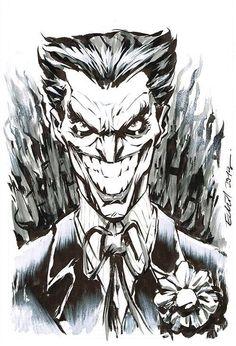 The Joker by  Elliot Fernandez *