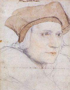 Thomas More, drawing by Hans Holbein the Younger