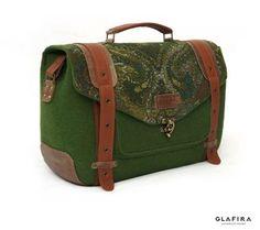 GLAFIRA / авторские сумки из шерсти