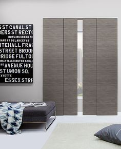 Panel Track Blinds | Customize | The Shade Store
