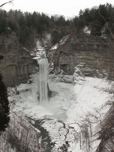 Taughannock Falls near Ithaca, NY is taller than Niagara. See more at ithacafingerlakes.com.