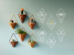 Mini Wall Pendants from Hedge Outdoor available at Pottedstore.com