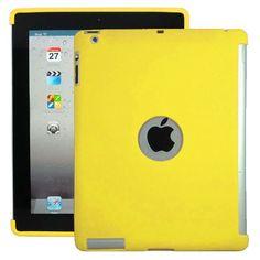 Soft Shell - Smart Cut (Gul) iPad 3 Deksel