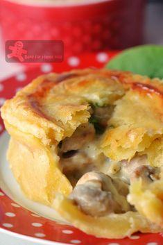 country chicken mushroom pies Maggie Beer