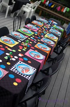 Mario Cart Birthday Party