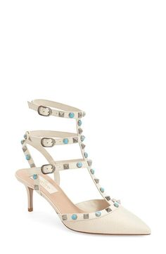 Valentino 'Rockstud' Pump (Women) available at #Nordstrom