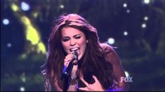 Miley Cyrus- When I Look At You Live on American Idol....Uploaded on Apr 27, 2011 Hope you like it !  comment and subscribe