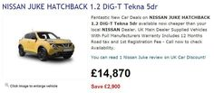 Nissan Juke Prices Increases Expected In June Nissan Juke Price, Price Increase, Car Deals, June, News
