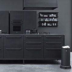 Kitchen and bin from Vipp.