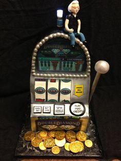 Slot Machine Cake, $5.00