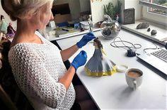 Masa porcelanowa - przepis - Zimna porcelana - moja pasja Clay Food, Tools, Recipes, Decor, Instruments, Decoration, Recipies, Ripped Recipes, Decorating