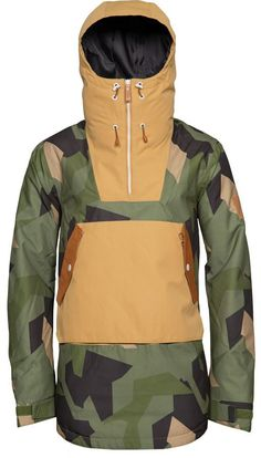 WEAR COLOUR Wear Anorak Jacket