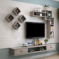 Modern Tv Room, Modern Tv Wall Units, Modern Tv Cabinet, Tv Unit Decor, Tv Wall Decor, Tv On Wall, Tv Cabinet Design, Tv Wall Design, Tv Unit Interior Design
