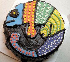 Birthday Fun, Birthday Parties, Birthday Cakes, Birthday Ideas, Lizard Cake, Sloth Cakes, Chameleon Lizard, Cake Decorating Courses, American Heritage Girls