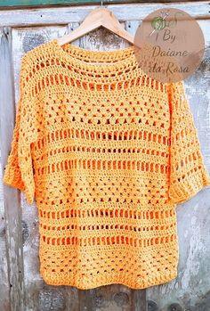 Items similar to Crochet sleeveless blouse on Etsy Crochet Wallet, Filet Crochet, Easy Crochet, Crochet Cardigan Pattern, Crochet Blouse, Cotton Crochet, Crochet Lace, Crochet Cocoon, Blouse