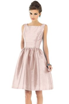 Shop Alfred Sung Bridesmaid Dress - D518 in Dupioni at Weddington Way. Find the perfect made-to-order bridesmaid dresses for your bridal party in your favorite color, style and fabric at Weddington Way.