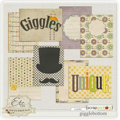 FREE Challenge Gift - Gigglebottom Cards from ETC by Danyale [ Download link is in the description area of the photo ]
