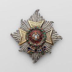 Star of Knight Grand Cross of the Order of the Bath, Military Division London, R&S Garrard & Co, 1840–1861.  From the collection of A. Khazin (Moscow).