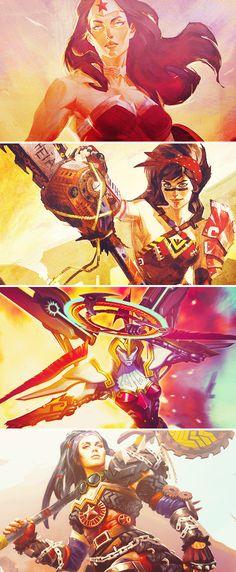 Infinite Crisis » Wonder Woman