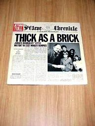 Jethro Tull, Thick As A Brick LP