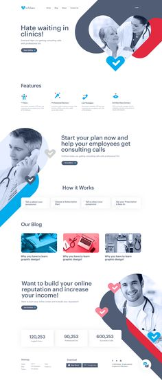 website design for Estshara, a mobile app that provides healthcare consultation online. Aiming to make healthcare accessible to everyone in the MENA region and giving small companies a smart solution for their employees' health insurance. Ui Ux Design, Cool Web Design, Brand Identity Design, Design Tech, Website Design Inspiration, Best Website Design, Design Websites, Mobile App, Hospital Website