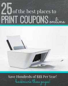 Great sites to print coupons off of. I use them and save a lot! Couponing For Beginners, Couponing 101, Extreme Couponing, Start Couponing, Saving Ideas, Money Saving Tips, Online Coupons, Grocery Coupons, Coupon Websites