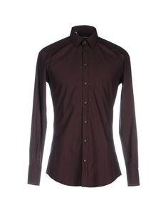 DOLCE & GABBANA Men's Shirt Deep purple 17 ½ inches-neck
