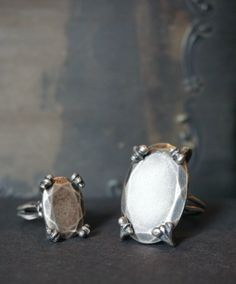The Sterling Silver Persephone's Jewel rings, available Friday July 13th at 3pm EST