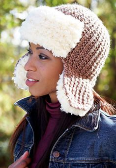 Ravelry: Trapper Hat pattern by Patons