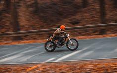 Hookie #12 Yamaha SR 250
