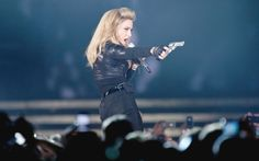 Madonna turns up support for Pussy Riot at Moscow concert