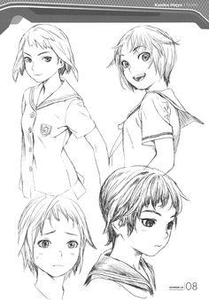 "Do douijinshi ""Shangri-la Filegraphy"" Lançado durante Female Character Design, Character Design References, Character Concept, Character Art, Concept Art, Manga Drawing, Manga Art, Drawing Sketches, Drawings"