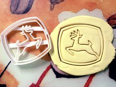 I NEED this! John Deere Cookie Cutter great for cutting Bread, Cheese, Soft fruit and more on Etsy, $9.99