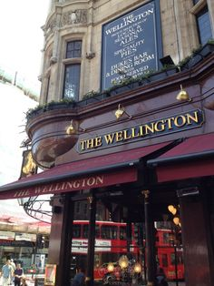 """See 230 photos and 50 tips from 3452 visitors to The Wellington. """"On a nice summery day, sit outside with some pub food and chilled beer and watch the. Greater London, National Portrait Gallery, Covent Garden, Southampton, Great Places, Four Square, Britain, Adventure, Duke"""
