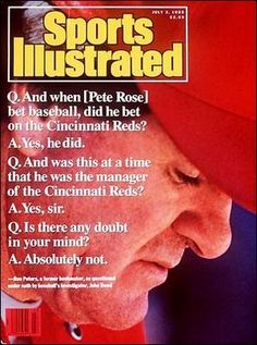 Sports Magazine Covers: Pete Rose