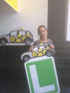 MARTA MORENO!!! #hoyvoy #autoescuela #hospitalet