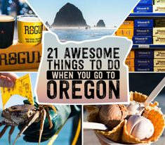 21 Awesome Things To Do When You Go To Oregon Got a long weekend to explore Portland and the Oregon Coast? Here's a step-by-step guide from a Great Northwest native (me) who's sampled a lot of what Oregon has to offer. Oregon Vacation, Oregon Road Trip, Oregon Travel, Road Trips, Oregon Camping, Travel Portland, Oregon Usa, Oregon Coast, Portland Oregon