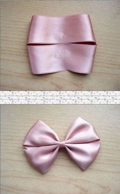 Tiaras, Presilhas, Laços de Cabelo Passo a Passo - - Making Hair Bows, Diy Hair Bows, Diy Bow, Diy Ribbon, Ribbon Crafts, Flower Hair Bows, Ribbon Hair Bows, Fabric Bows, Fabric Flowers