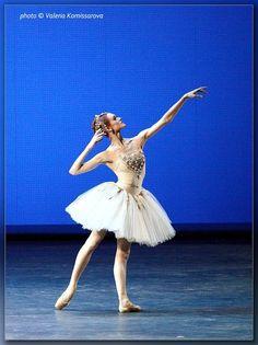 Uliana Lopatkina in Diamonds from George Balanchine's Jewels.  Photo (c) Valeria Komissarova.