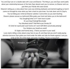 Zayn imagine… so cute One Direction Images, One Direction Louis, Malik One Direction, Direction Quotes, 1d Imagines, Harry Styles Imagines, Imagines Crush, Zayn Malik Images, Louis And Eleanor