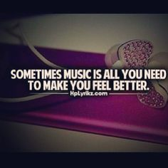 sometimes #music is all you need