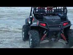 ATV rally driving through the Maya jungle..