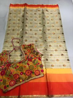 Latest Fancy Sarees Paired With Designer Blouse | Buy ONline Fancy Sarees | Elegant Fashion Wear